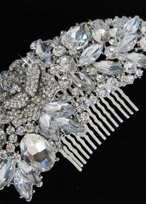 Amelia Pearl Hair Comb, Aye Do Wedding Accessories