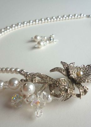 Bridal Necklace, Amanda Caroline Couture