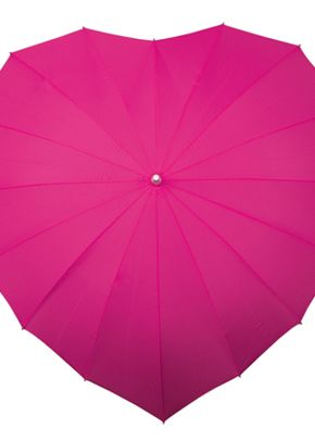 Hot Pink Heart Umbrella, Aye Do Wedding Accessories