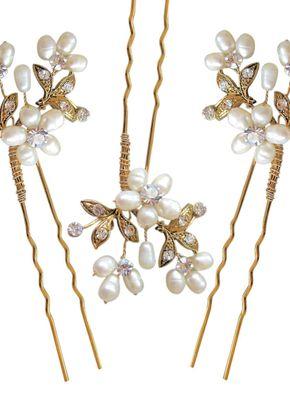 Paris Hair Pins - Gold set of 3, Aye Do Wedding Accessories