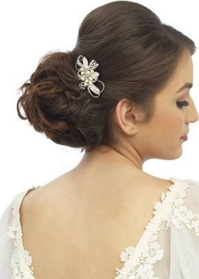Pearl Bow Comb, Aye Do Wedding Accessories