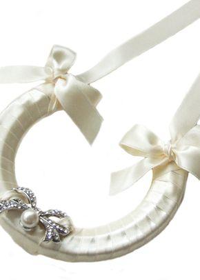 Vintage Bow Horseshoe, Aye Do Wedding Accessories