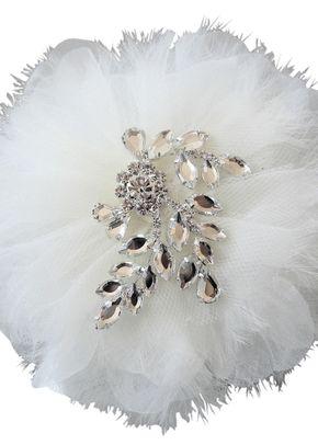 Vintage Glamour Hair Flower, Aye Do Wedding Accessories