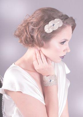 Florence Headband Silver, 1081