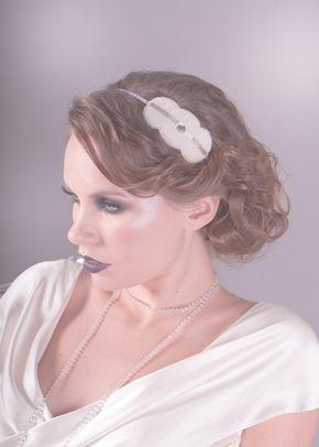 Florence Headband White, 1081
