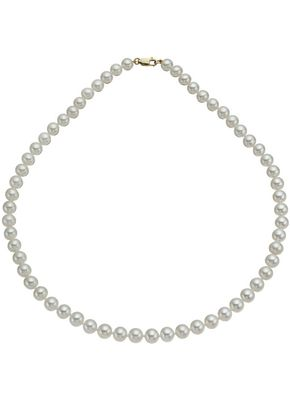 9ct Yellow Gold Cultured Freshwater Pearl Strand Necklace, 1303