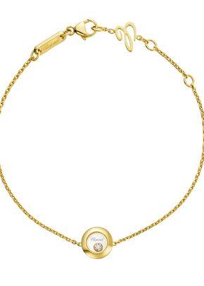 Chopard Happy Diamonds Icons 18ct Yellow Gold Bracelet, 1303