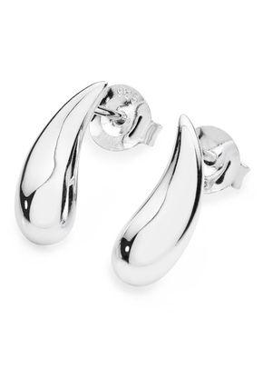 Lucy Quartermaine Silver 925 Droplet Stud Earrings, 1303