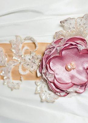 Georgina Sash, Fancy Bowtique Bridal Couture