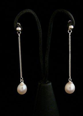 Pearl Earrings, Flo & Percy Jewellery