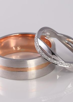 Emily Wedding bands, James Veale Jewellery