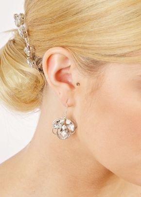 Marquise Fan Earrings, 1023