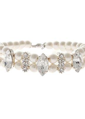 Marquise Rhinestone & Pearl Bracelet, 1023