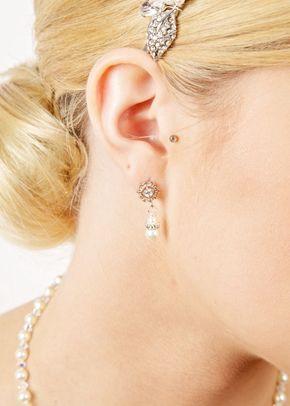 Vintage Pearl Drop Earrings, 1023