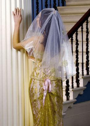 Rosina Shell Pink Veil, Visionary Veils