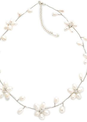 White Daisycahin necklace , Westwood Rocks Jewellery