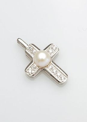 White Eternity Cross , Westwood Rocks Jewellery