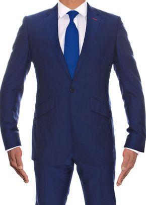 Electric Blue Wool & Mohair, Adam Waite