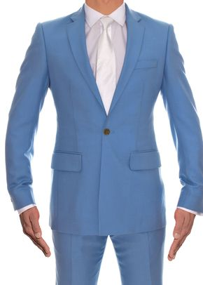 Powder Blue Lightweight Wool, 973