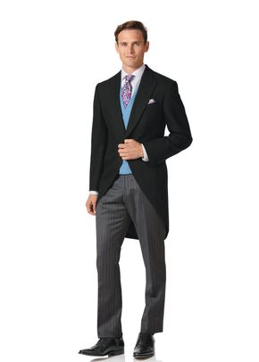 MOSS ESQ. REGULAR FIT BRIGHT BLUE 3 PIECE SUIT, Moss Bros