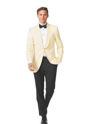 Cream slim fit dinner suit, Charles Tyrwhitt
