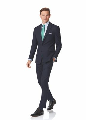 Midnight blue extra slim fit business suit, Charles Tyrwhitt