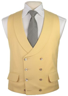 Double Breasted Lapel Yellow (FBM14), Favourbrook