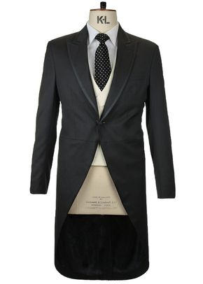 Morning Coat Black Gotha (FBMJ53b), Favourbrook