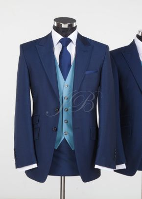 York - Vintage Wedding Suit – Blue from Jack Bunneys 2, Jack Bunneys