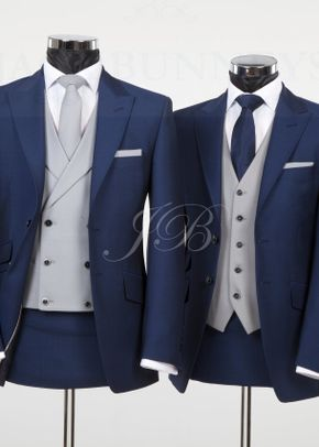 York - Vintage Wedding Suit – Blue from Jack Bunneys 3, Jack Bunneys