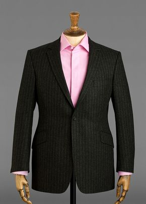 Grey Flannel Chalk Stripe, 1041