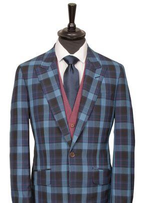 Blue Check Suit, King & Allen