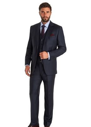 ERMENEGILDO ZEGNA CLOTH REGULAR FIT BLUE MIX AND MATCH SUIT JACKET, 1215