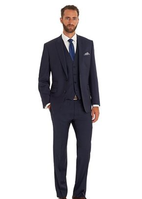 MOSS 1851 TAILORED FIT NEW BLUE MIX AND MATCH PEAK LAPEL JACKET, 1215