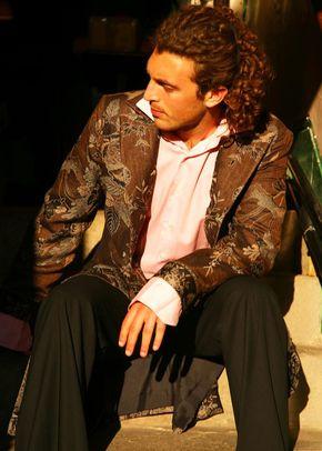 Cashmere Coat Men Dali Graphite, Shibumi Groomswear