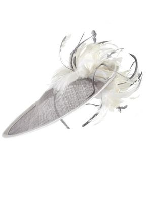 Grey/Ivory Feathers Mid Hatinator, 1125