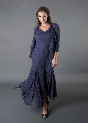 Night Sky Stretch Lace Cinderella Dress, 1123