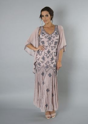 Powder Pink Gunmetal dress, 1123