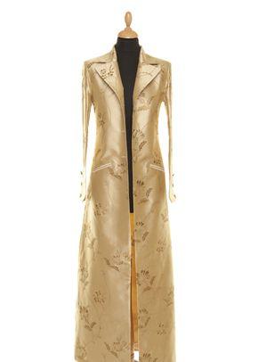 Silk Coat Women Aquila Honey Gold, Shibumi