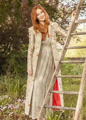 Silk Coat Women Aquila Soft Pistachio, 1191