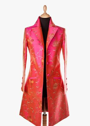 Silk Coat Women Grace Schiaperelli Pink, 1191