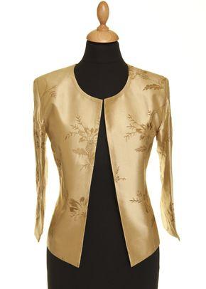 Silk Jacket Women Juna Honey Gold, Shibumi