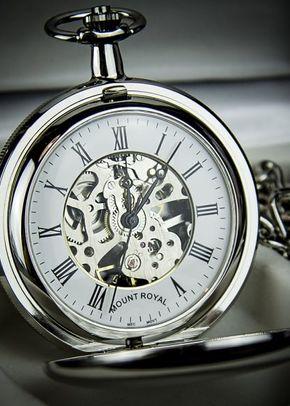 Mount Royal Double Hunter Skeleton Pocket Watch, Farrar & Tanner