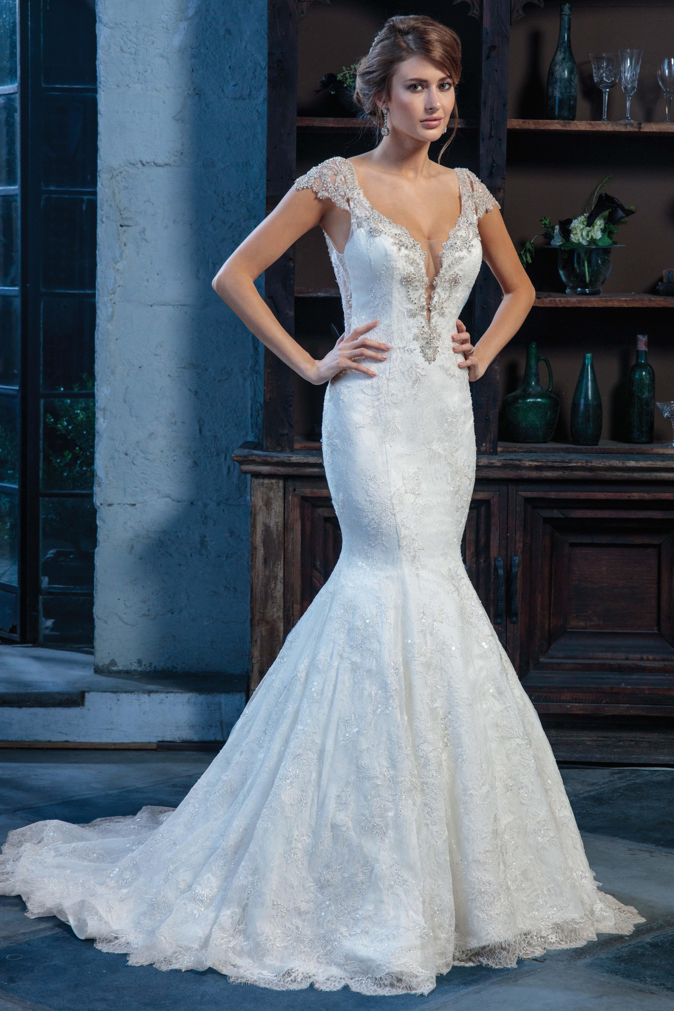 Wedding Dresses | Style - MB5016 in Ivory/Nude or Ivory Color