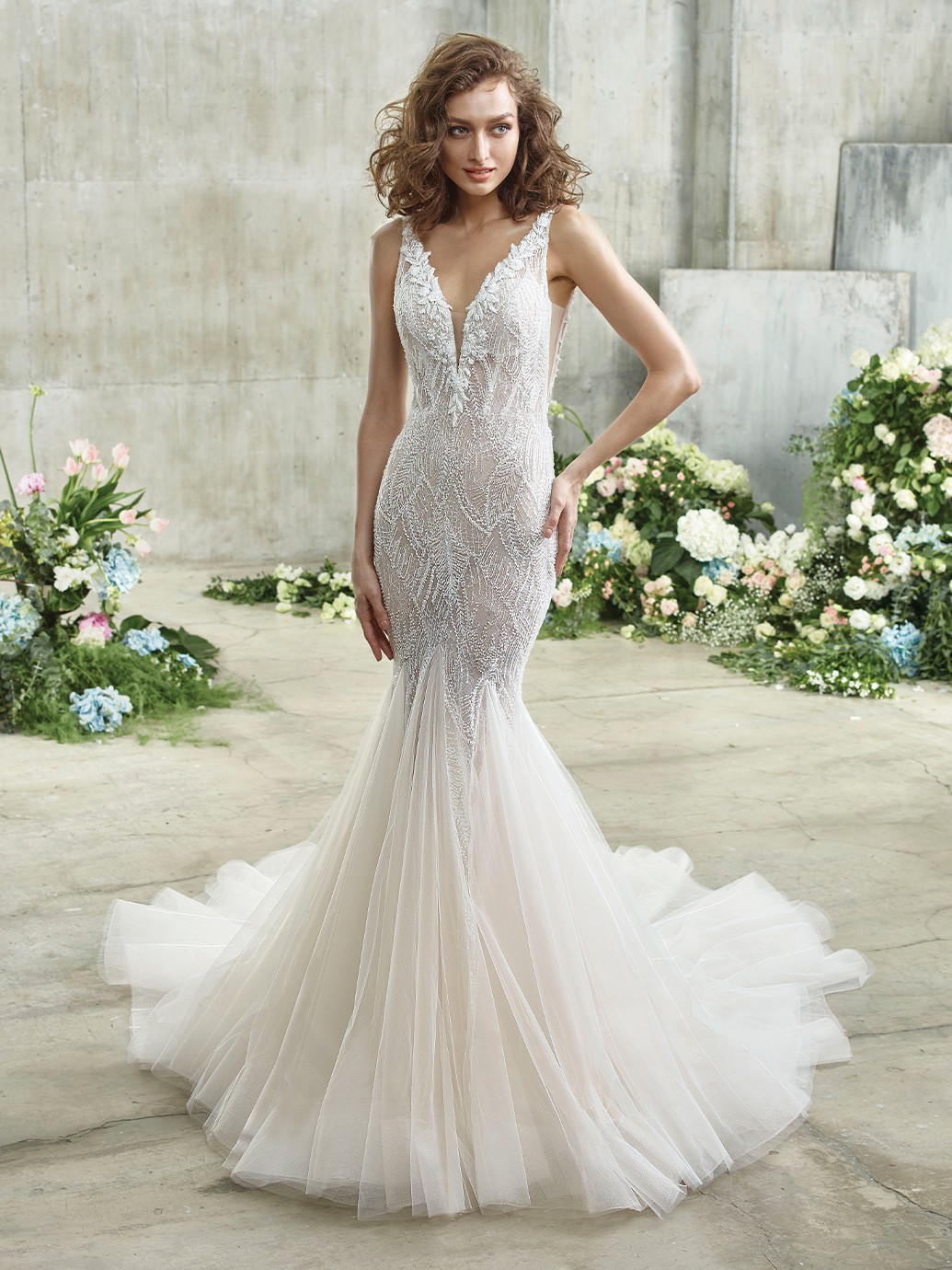 Emmy Wedding Dress from Badgley Mischka - hitched.co.uk