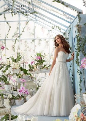 5414, Blu by Mori Lee