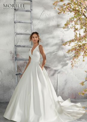 5684, Blu by Mori Lee