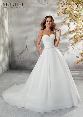 5696, Blu by Mori Lee