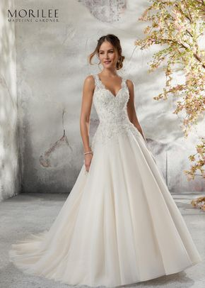 5697, Blu by Mori Lee