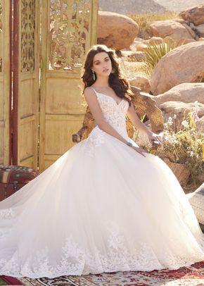 5761, Blu by Mori Lee